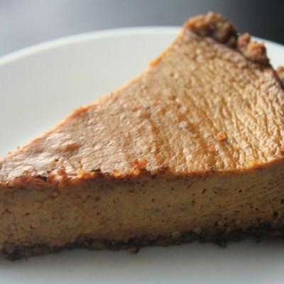 Walnut Crust Pumpkin Pie